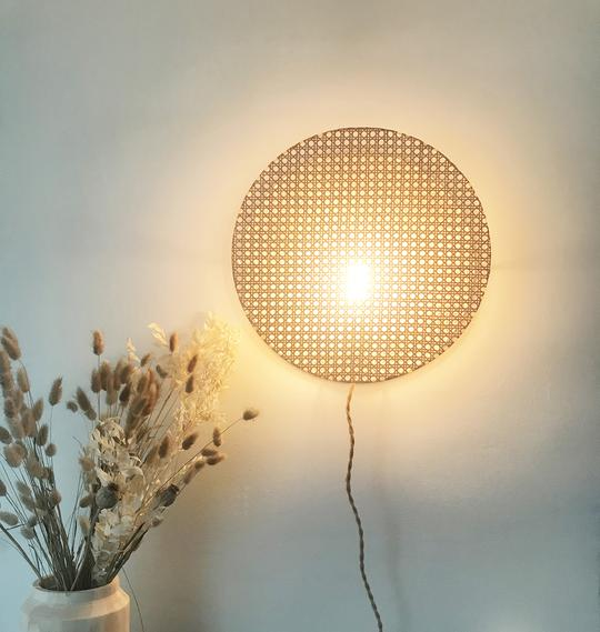 ÂME BORDEAUX_LAMPE MOON 38 BY AN°SO DESIGN