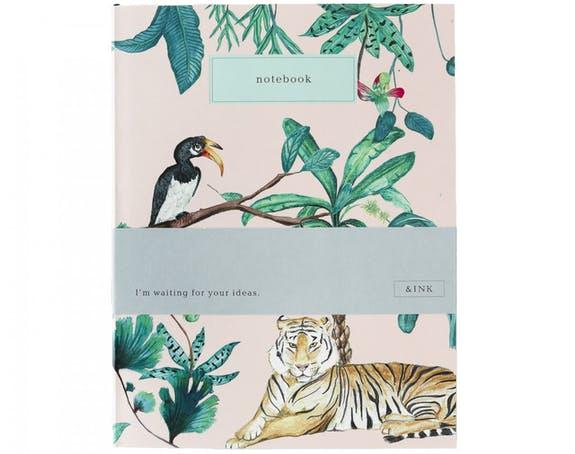 Note book, To do list Jungle, A JOURNAL, Notebook, ame bordeaux, carnet, boutique bordeaux, carnets