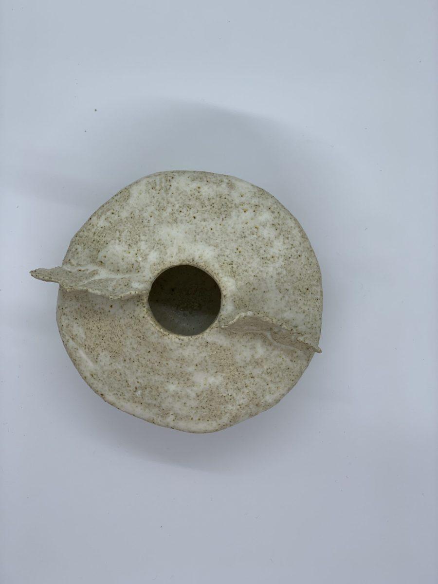 vase pel asterisque ame bordeaux ceramique